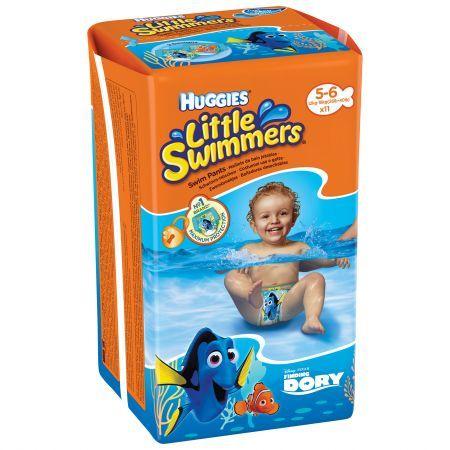 Huggies Памперс гащички / бански за плуване/ Little Swimmers /12-18 кг./ 11бр.